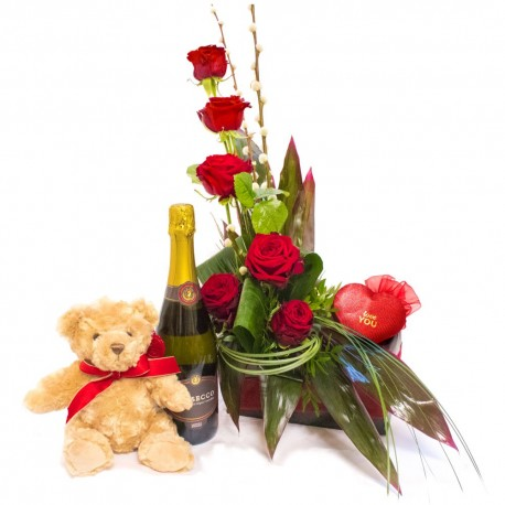 Red Rose Gift Box