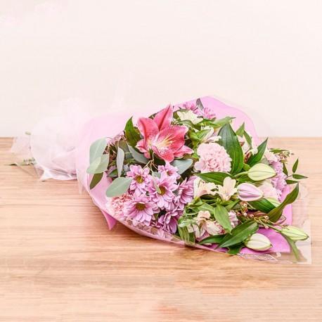 Pretty Pink Cone Wrap