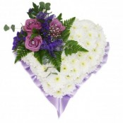Funeral Heart Lilac
